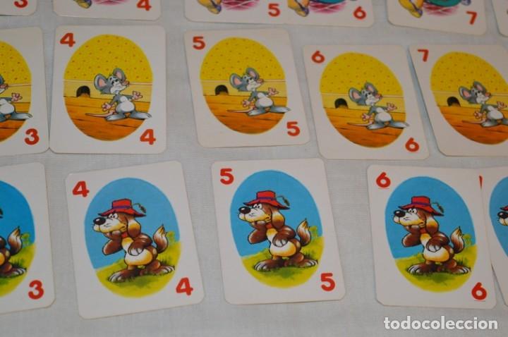 Barajas de cartas: Antigua BARAJA Chase The Mouse - Completa 36 Cartas / Año 1982 ARROW PUZZLES ¡Mira fotos/detalles! - Foto 7 - 174520577