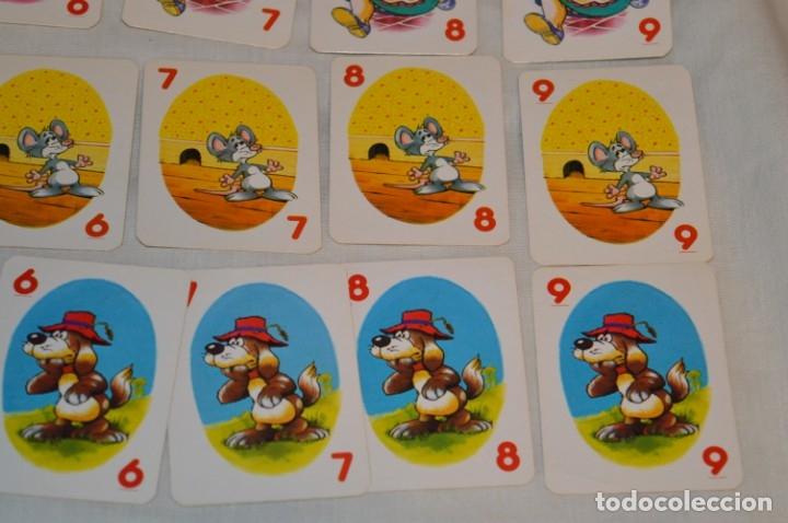Barajas de cartas: Antigua BARAJA Chase The Mouse - Completa 36 Cartas / Año 1982 ARROW PUZZLES ¡Mira fotos/detalles! - Foto 8 - 174520577