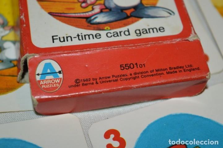 Barajas de cartas: Antigua BARAJA Chase The Mouse - Completa 36 Cartas / Año 1982 ARROW PUZZLES ¡Mira fotos/detalles! - Foto 10 - 174520577