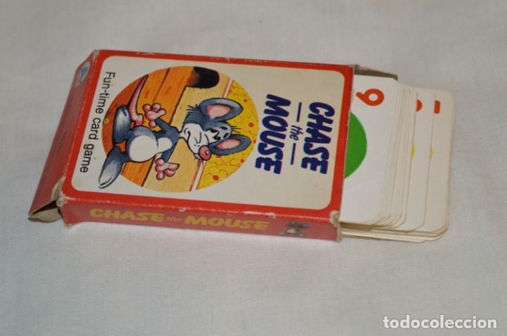 Barajas de cartas: Antigua BARAJA Chase The Mouse - Completa 36 Cartas / Año 1982 ARROW PUZZLES ¡Mira fotos/detalles! - Foto 12 - 174520577