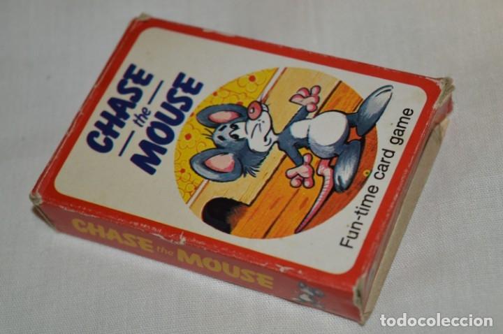 Barajas de cartas: Antigua BARAJA Chase The Mouse - Completa 36 Cartas / Año 1982 ARROW PUZZLES ¡Mira fotos/detalles! - Foto 13 - 174520577