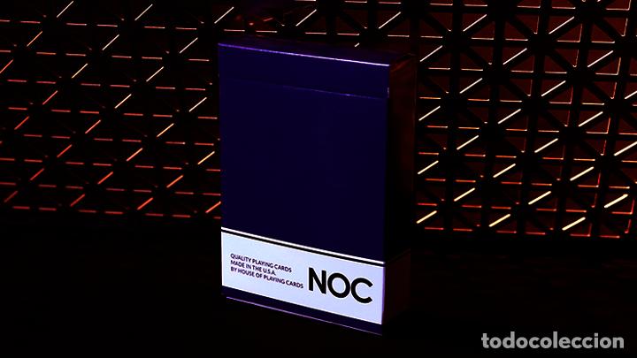 Purple NOC Original Deck Printed at USPCC by The Blue Crown