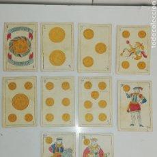 Barajas de cartas: BARAJA ESPAÑOLA. SIGLO XIX.. Lote 174977478