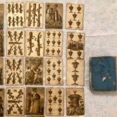 Barajas de cartas: BARAJA ESPAÑOLA. GRABADAS POR MANUEL ALEGRE. 1811. Lote 174994489