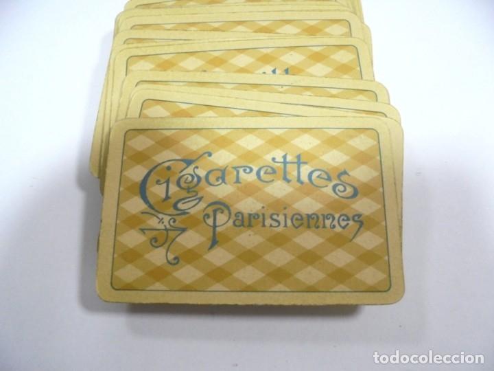 Barajas de cartas: BARAJA DE CARTAS. ALEMANA. PUBLICITARIA. CIGARETTES PARISIENNES. COMPLETA. VER FOTOS Y DORSO - Foto 2 - 175019152