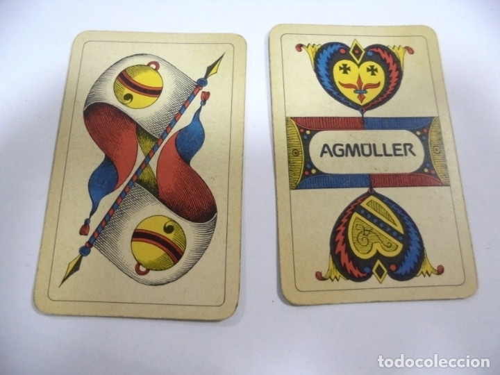 Barajas de cartas: BARAJA DE CARTAS. ALEMANA. PUBLICITARIA. CIGARETTES PARISIENNES. COMPLETA. VER FOTOS Y DORSO - Foto 3 - 175019152