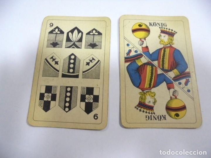 Barajas de cartas: BARAJA DE CARTAS. ALEMANA. PUBLICITARIA. CIGARETTES PARISIENNES. COMPLETA. VER FOTOS Y DORSO - Foto 5 - 175019152