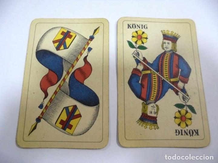 Barajas de cartas: BARAJA DE CARTAS. ALEMANA. PUBLICITARIA. CIGARETTES PARISIENNES. COMPLETA. VER FOTOS Y DORSO - Foto 6 - 175019152