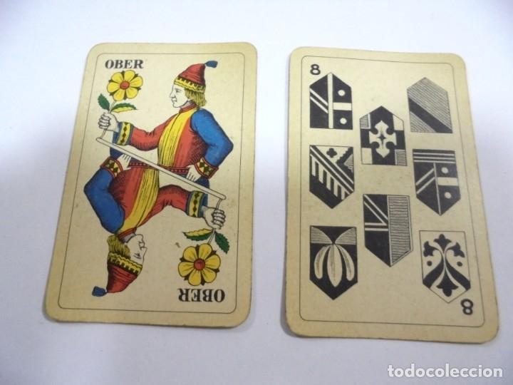 Barajas de cartas: BARAJA DE CARTAS. ALEMANA. PUBLICITARIA. CIGARETTES PARISIENNES. COMPLETA. VER FOTOS Y DORSO - Foto 10 - 175019152