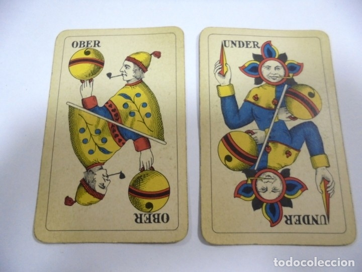 Barajas de cartas: BARAJA DE CARTAS. ALEMANA. PUBLICITARIA. CIGARETTES PARISIENNES. COMPLETA. VER FOTOS Y DORSO - Foto 11 - 175019152