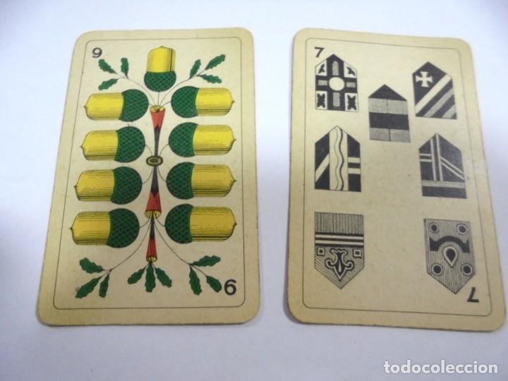 Barajas de cartas: BARAJA DE CARTAS. ALEMANA. PUBLICITARIA. CIGARETTES PARISIENNES. COMPLETA. VER FOTOS Y DORSO - Foto 17 - 175019152