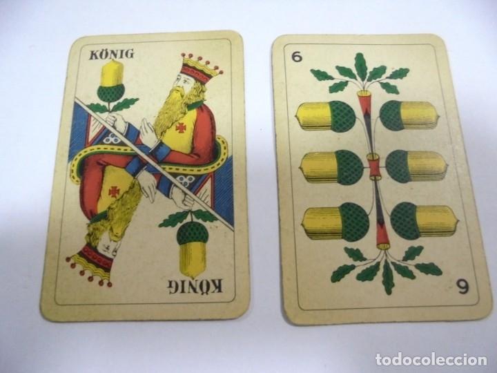 Barajas de cartas: BARAJA DE CARTAS. ALEMANA. PUBLICITARIA. CIGARETTES PARISIENNES. COMPLETA. VER FOTOS Y DORSO - Foto 20 - 175019152