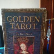 Barajas de cartas: GOLDEN TAROT. Lote 175074214