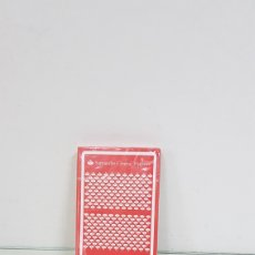 Barajas de cartas: BARAJA DE CARTAS FOURNIER NAIPES ESPAÑOLES 50 CARTAS CON ANVERSO SANTANDER. Lote 175118962