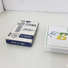 Barajas de cartas: BARAJA DE CARTAS FOURNIER DE NAIPES ESPAÑOLES 40 CON LOGOTIPO DESCONOZCO MARCA. Lote 175119917