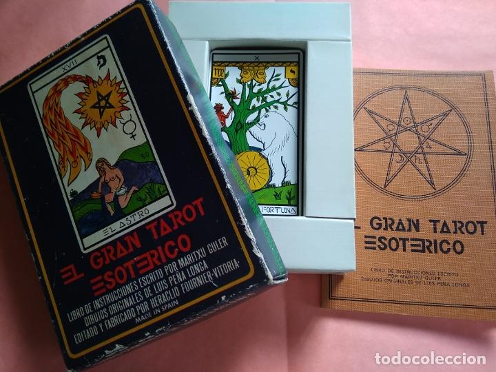 Barajas de cartas: EL GRAN TAROT ESOTERICO - HERACLIO FOURNIER - VITORIA - 1976 - Foto 3 - 175176855