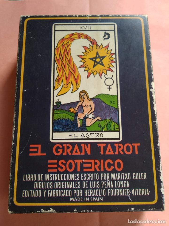 EL GRAN TAROT ESOTERICO - HERACLIO FOURNIER - VITORIA - 1976 (Juguetes y Juegos - Cartas y Naipes - Barajas Tarot)