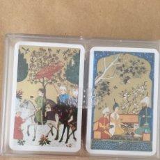 Barajas de cartas: 2 BARAJAS FOURNIER TIMBRADAS MOTIVO JAPONÉS. FOURNIER.. Lote 175201317