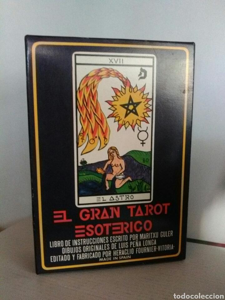 EL GRAN TAROT ESOTÉRICO. (Juguetes y Juegos - Cartas y Naipes - Barajas Tarot)