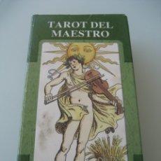 Barajas de cartas: TAROT DEL MAESTRO. Lote 175301612