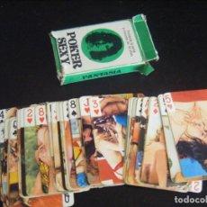 Barajas de cartas: JML BARAJA CARTAS NAIPES POKER PORNO EROTICA POKER SEXY FANTASIA V.A. VER FOTOS. COMPLETA.. Lote 175326237