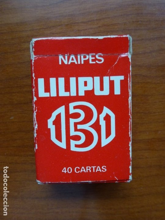 BARAJA NAIPES FOURNIER 131 LILIPUT - AÑOS 90 (Juguetes y Juegos - Cartas y Naipes - Barajas Infantiles)