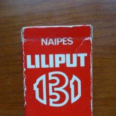 Barajas de cartas: BARAJA NAIPES FOURNIER 131 LILIPUT - AÑOS 90. Lote 175351092