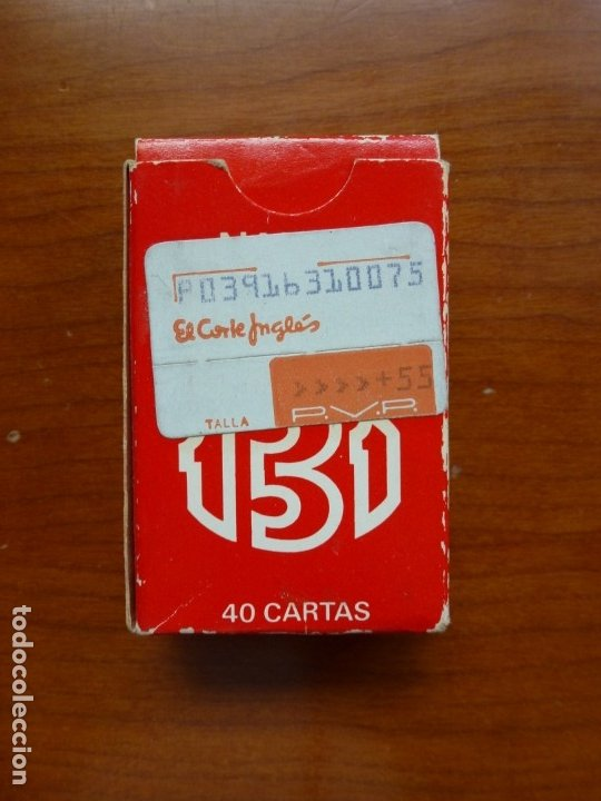 Barajas de cartas: Baraja naipes Fournier 131 Liliput - Años 90 - Foto 4 - 175351092