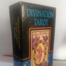 Barajas de cartas: DIVINATION TAROT. Lote 175398650