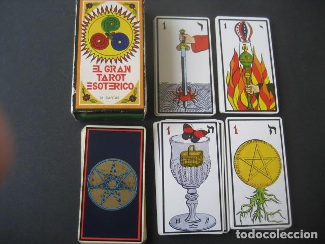 EL GRAN TAROT ESOTERICO. FOURNIER 1978 (Juguetes y Juegos - Cartas y Naipes - Barajas Tarot)