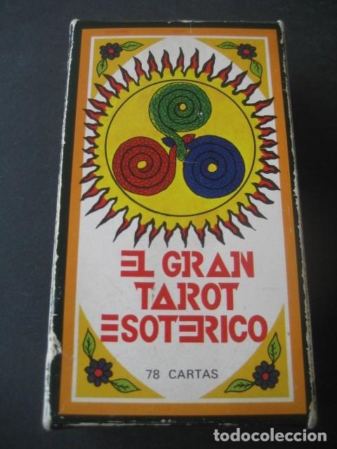 Barajas de cartas: EL GRAN TAROT ESOTERICO. FOURNIER 1978 - Foto 2 - 175453610