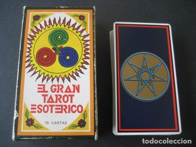 Barajas de cartas: EL GRAN TAROT ESOTERICO. FOURNIER 1978 - Foto 3 - 175453610