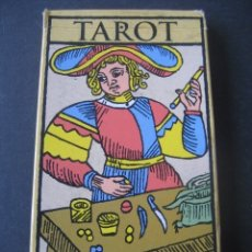 Jeux de cartes: 22 ARCANOS MAYORES. TAROT MARSELLA. Lote 175453794