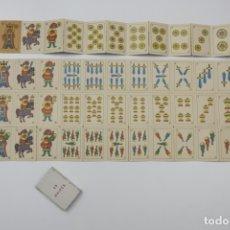 Barajas de cartas: MINI BARAJA INFANTIL ESPAÑOLA - NAIPES DE KIOSCO - AÑOS 70. Lote 175454977