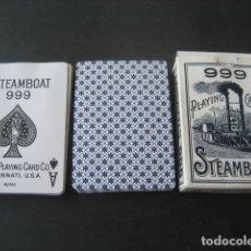 Barajas de cartas: BARAJA POKER. 999 STEAMBOAT . Lote 175461533