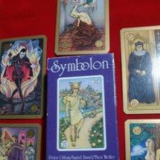 Barajas de cartas: SYMBOLON TAROT. Lote 175479644