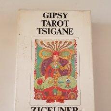 Barajas de cartas: BARAJA DE CARTAS GIPSY TAROT TSIGANE ZIGEUNER TAROT SWITZERLAND 1982. TDKC37. Lote 175552338