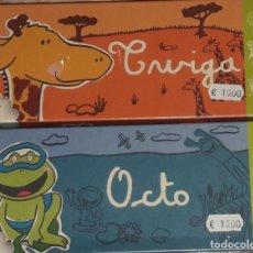 Barajas de cartas: JUEGO DE MESA DE CARTAS TWIGA Y OCTO 2 JUEGOS. DENTRO DE CAJA SIN ABRIR. Lote 175572980