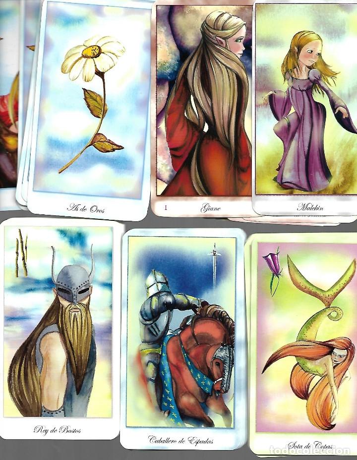 BARAJA DE TAROT DE LAS HADAS PERFECTO ESTADO CON 78 CARTAS COMPLETA (Juguetes y Juegos - Cartas y Naipes - Barajas Tarot)