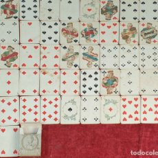 Barajas de cartas: BARAJA DE 52 CARTAS DE BRIDGE. SIGLO DE ORO XVIII. CATEL ET FARCI. CIRCA 1900. Lote 175662664