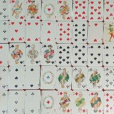 Barajas de cartas: JUEGO DE 54 CARTAS. SÉRIE EMPIRE PATIENCE. FERD PIAINIK AND SONS. VIENA. SIGLO XX.. Lote 175667490