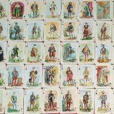 Barajas de cartas: JUEGO DE 55 CARTAS. BARAJA HISTÓRICA. HERACLIO FOURNIER. VITORIA. ESPAÑA. 1954.. Lote 175672352