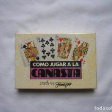 Barajas de cartas: HERACLIO FOURNIER JUEGO DE LA CANASTA. Lote 175687869