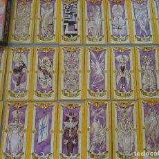 Barajas de cartas: BARAJA DE CARTAS TIPO TAROT. SAKURA NIÑA MANGA COMIC JAPONÉS THE CLOW 1999. 54 NAIPES. 300 GR. Lote 175806002