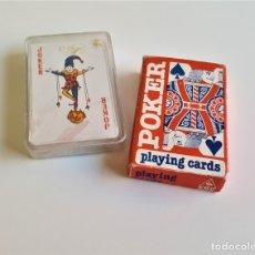 Barajas de cartas: DOS BARAJAS POKER. Lote 175867910