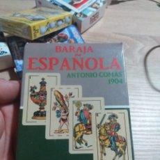 Barajas de cartas: BARAJA DE CARTAS PRECINTADA BARAJA ESPAÑOLA ANTONIO COMAS. Lote 175915512