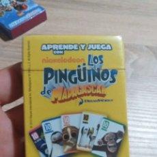 Jeux de cartes: BARAJAS DE CARTAS PINGUINOS DE MADAGASCAR. Lote 175917080