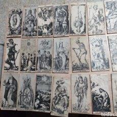 Barajas de cartas: NI IDEA ,BARAJA CASERA?PARECE TAROT?DEL TERROR ,HUELE A VIEJO. Lote 175920764
