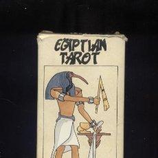 Barajas de cartas: EGYPTIAN TAROT BARAJA DE CARTAS FOURNIER 78 CARTAS COMPLETA. Lote 175961214