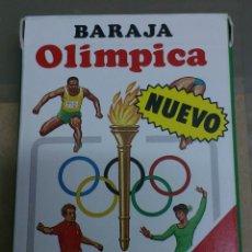 Barajas de cartas: BARAJA OLÍMPICA HERACLIO FOURNIER NUEVAS A ESTRENAR. Lote 176106004